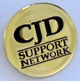CJD button badge with background 2